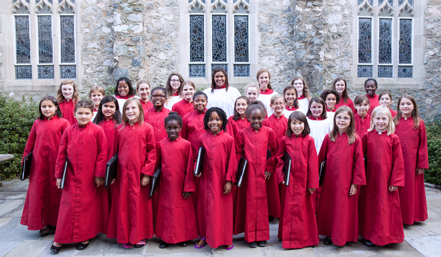 St. Stephen's is home to the Virginia Girls Choir:::Anyone can audition!